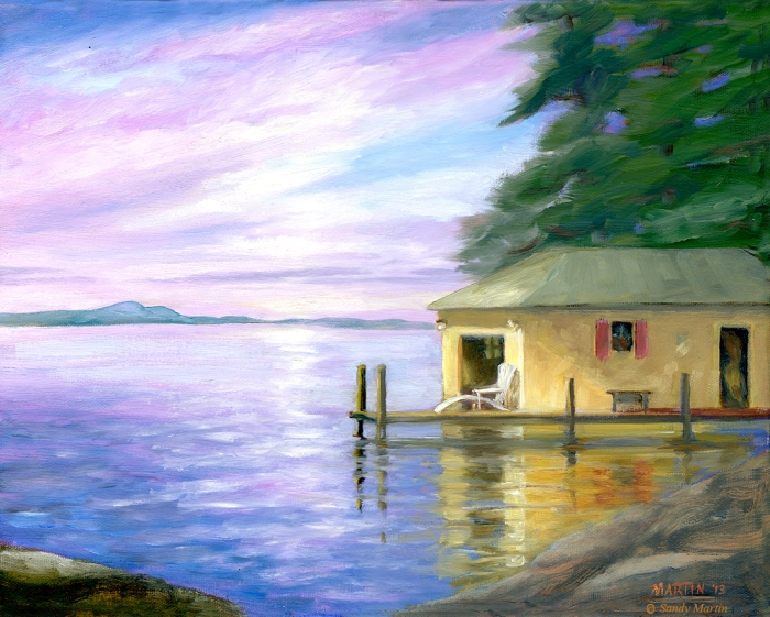 Sunset Boathouse