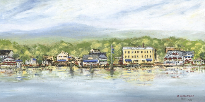 Wolfeboro By Boat