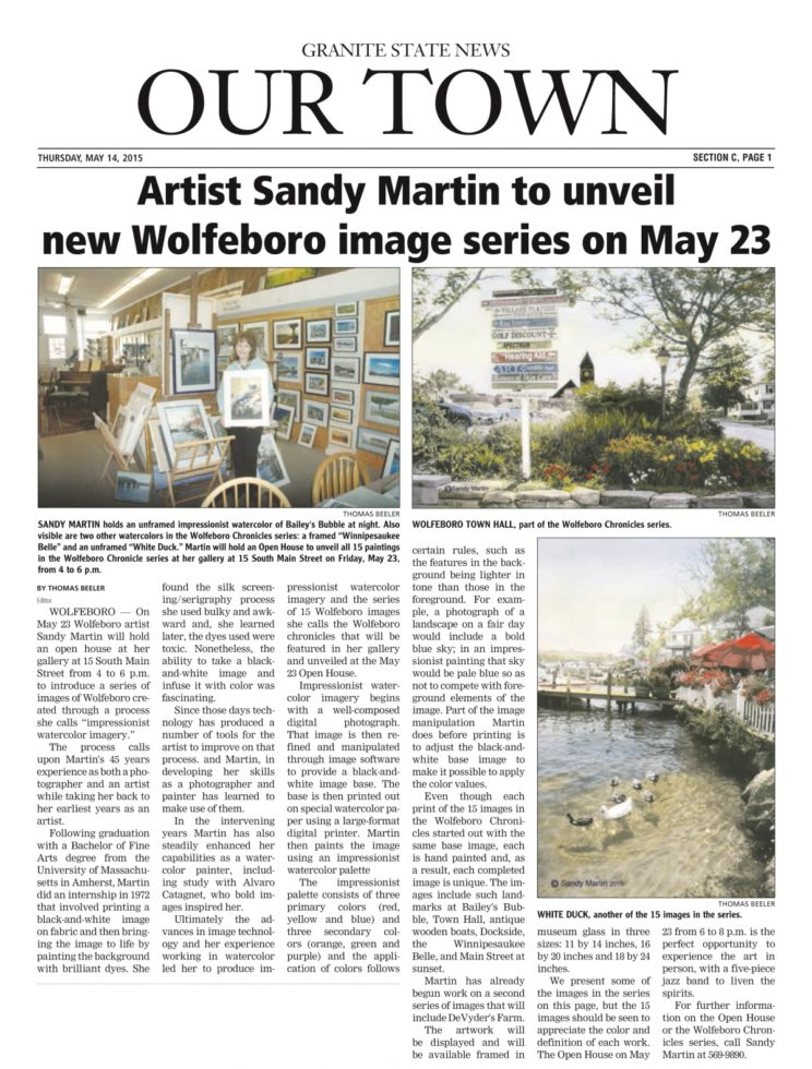 Sandy Martin article res